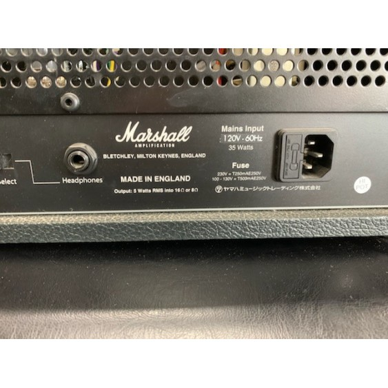 Marshall Class 5 Head Made in the UK- 5 Watt Tube Head - Lunchbox Size  -AWESOME