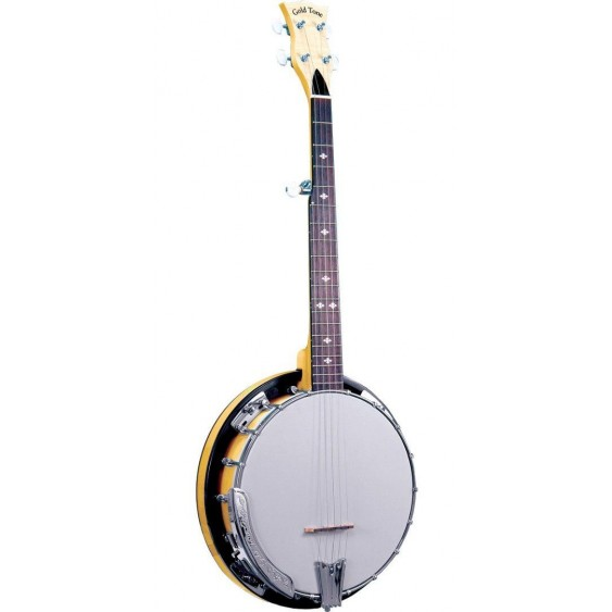 Gold Tone CC-TRAVEL Cripple Creek Traveler Closed Back 5-String A-Scale Banjo