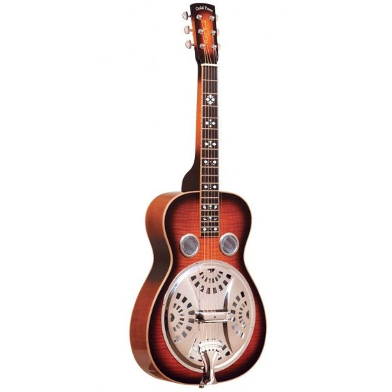 Gold Tone Paul Beard PBS-D Square Neck Deluxe Resonator Acoustic Guitar