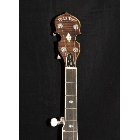 Gold Tone BG-250F 5-String Professional Bluegrass Special Resonator Banjo w/CASE
