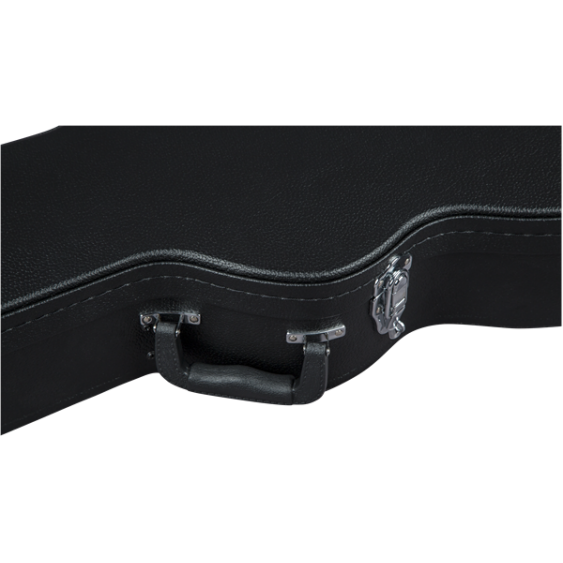 "G6297 Bass Case, Flat Top, Electromatric, 34"" Scale, Black"