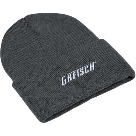 Gretsch Guitars Gray Stocking Cap Beanie with Embroidered Logo #0994782006