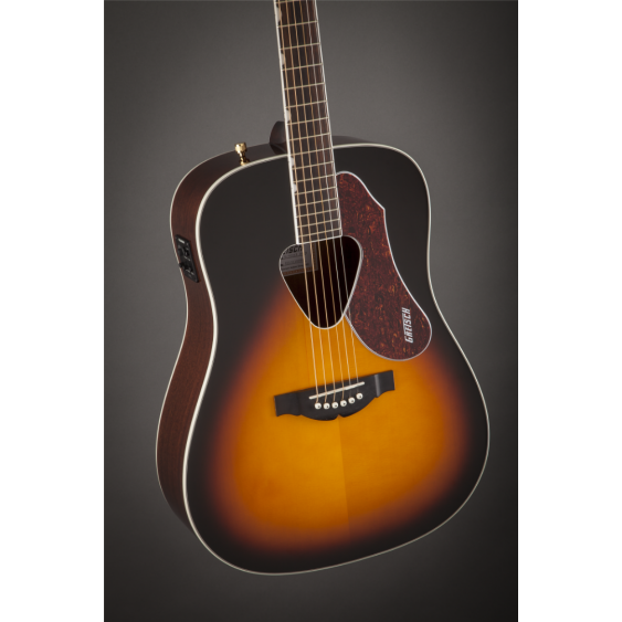 Gretsch G5024E Rancher Acoustic Electric Dreadnought Size Guitar in Sunburst