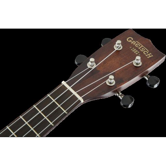 gretsch model g9110 concert size standard mahogany ukulele with gig bag demo. Black Bedroom Furniture Sets. Home Design Ideas