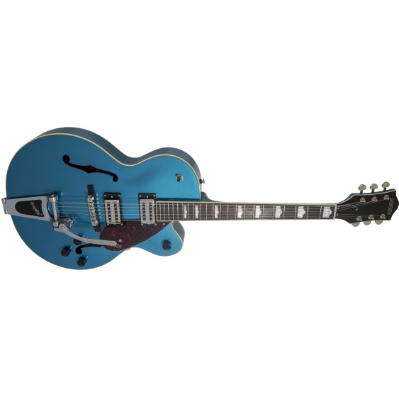 Gretsch G2420T Streamliner Hollow Body Electric Guitar with Bigsby Tremolo - BLUE