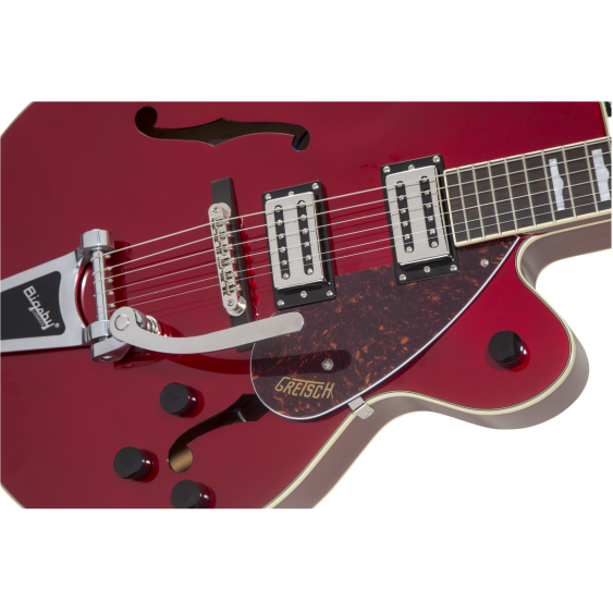 Gretsch G2420T Streamliner Hollow Body Electric Guitar, Candy Apple Red w/Bigsby