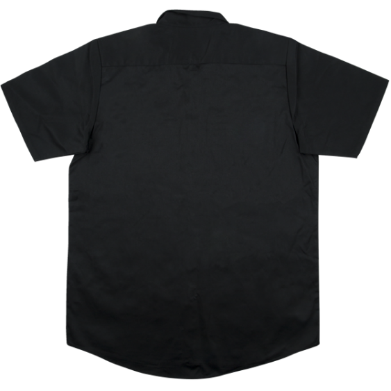 Genuine Jackson Logo Black Men's Workshirt, Size Extra Large #2999578706