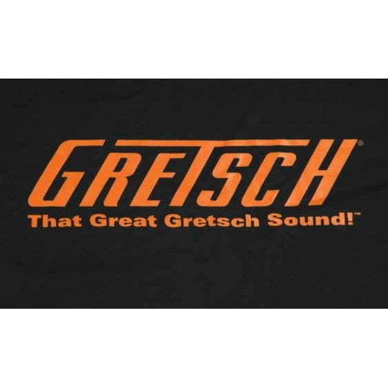 That Great Gretsch Sound!™ T-Shirt, Black, Large #0991983506