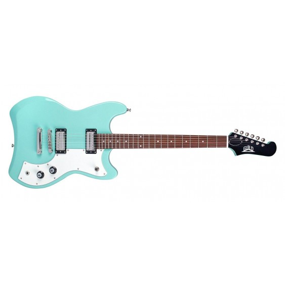 Guild Model S-50 Jetstar Solid Body Electric Guitar Vintage White with Gig Bag