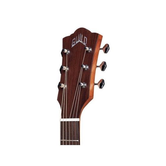 Guild M-240E Acoustic Electric Solid Top Arched Back Guitar w/Bag - Blem #J81