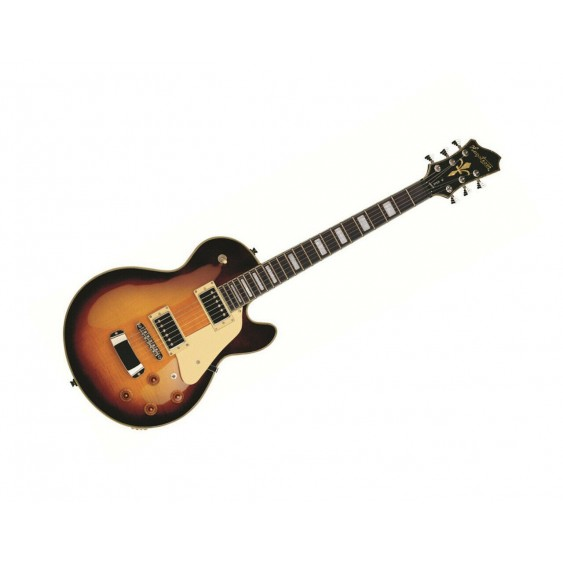 New Hagstrom Super Swede Solid Body Electric Guitar - Black Gloss - SUSWE-BLK