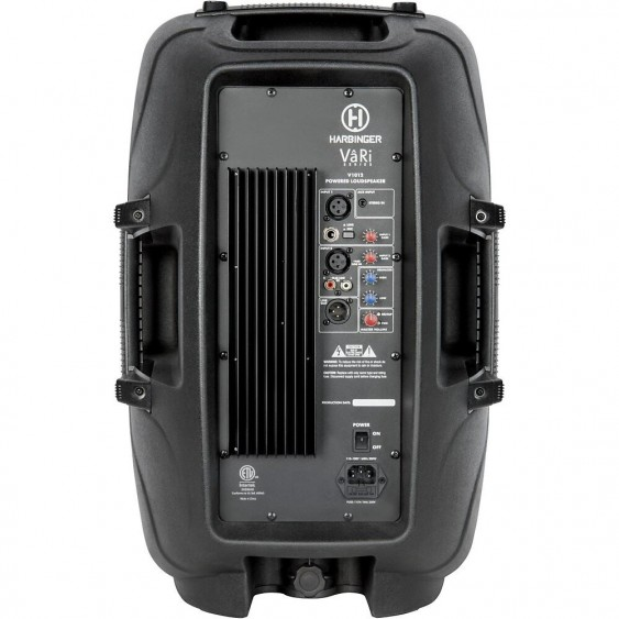 Harbinger Vari V1012 12 in. Active Loudspeaker - ALL IN ONE PA for DJ or ?