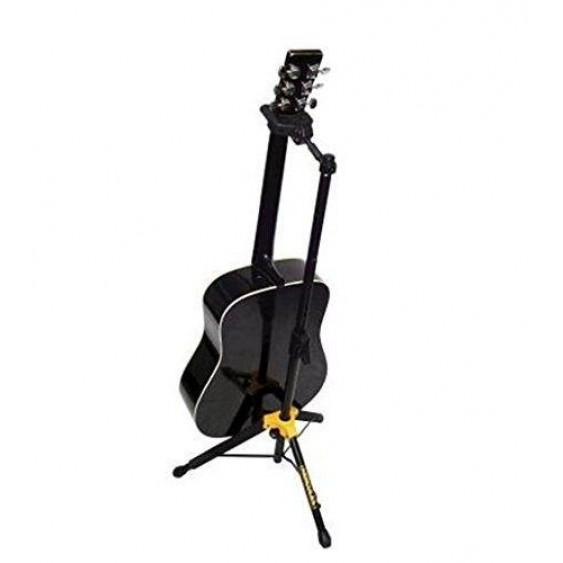 Hercules Model GS415B Tripod Single Guitar Stand-Auto Grip System & Folding Head