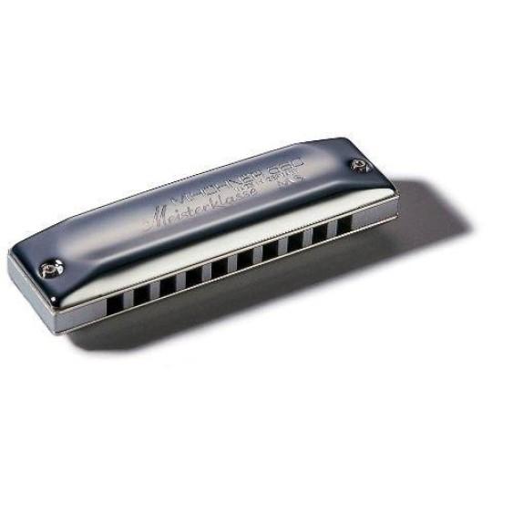Hohner Meisterklasse 580BL-B MS Diatonic Harmonica - Key of B, Made in Germany