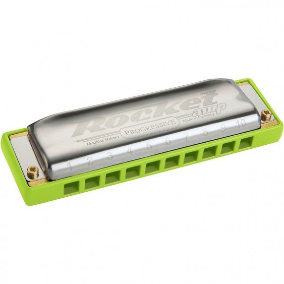 Hohner ROCKET AMP HARP Harmonica Model M2015bx-E Harmonica in the Key of E