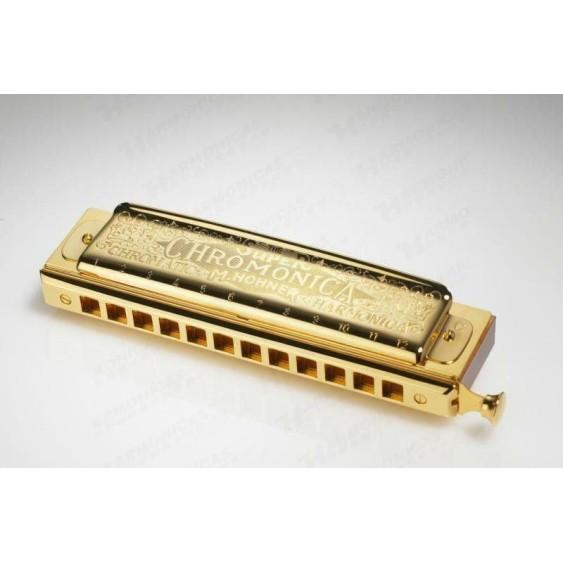Hohner 270BX Gold Super Chromonica Chromatic Slide Harmonica Key of C