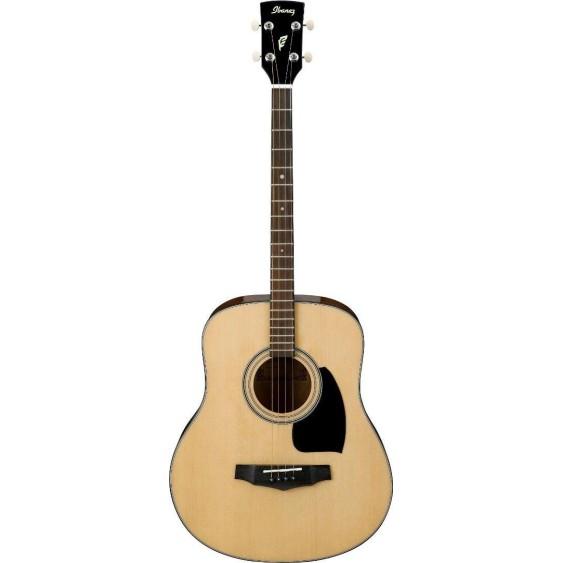 Ibanez PFT2NT Performance Acoustic Mini Dreadnought Shaped 4-String Tenor Guitar