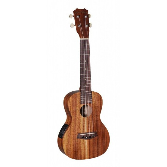 Islander AC-4-EQ Satin Acacia Concert Acoustic Electric Ukulele from Kanile'a