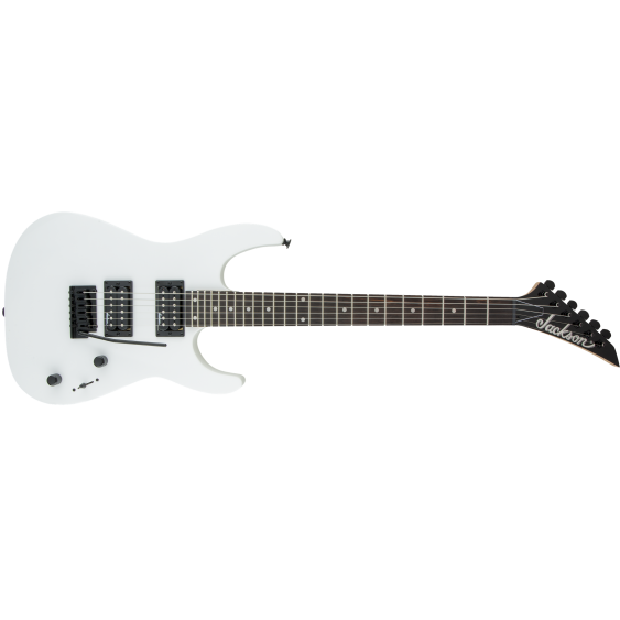 Jackson JS Series JS12 Dinky Double Cutaway Electric Guitar in Snow White