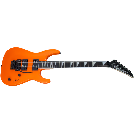 Jackson JS Series Model JS32 DKA Arch Top Electric Guitar in Neon Orange