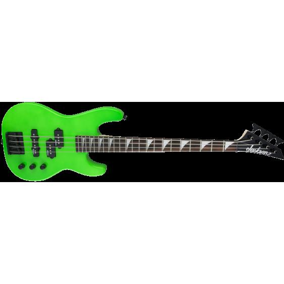 Jackson JS Series Concert Bass™ Minion JS1X, Amaranth Fingerboard, Neon Green