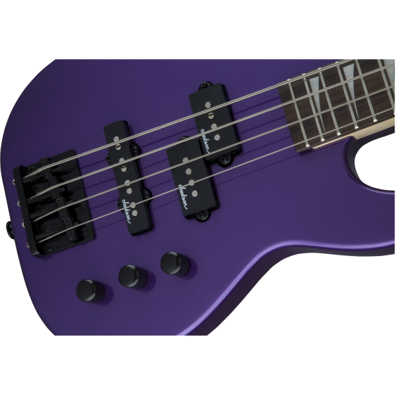 Jackson JS Series Concert Bass™ Minion JS1X, Amaranth Fingerboard, Pavo Purple