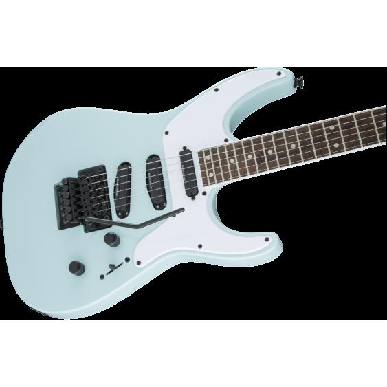 jackson x series sl4x soloist electric guitar daphne blue with floyd rose demo. Black Bedroom Furniture Sets. Home Design Ideas