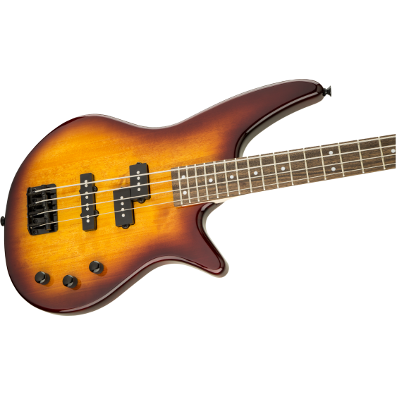 Jackson JS Series Spectra JS2 4-String Electric Bass Guitar in Tobacco Burst