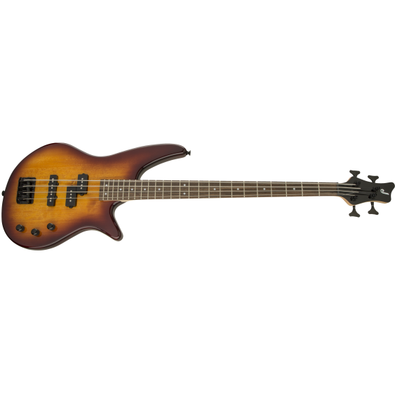 Jackson JS Series Spectra JS2 4-String Electric Bass Guitar in Tobacco Burst