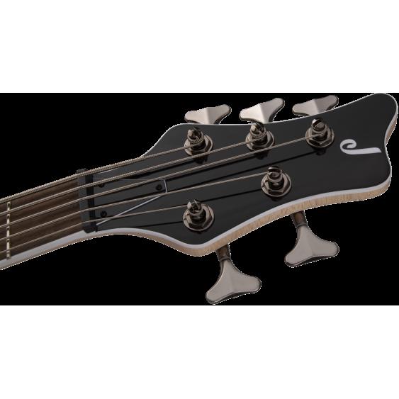 Jackson JS Series Spectra 5 String Bass JS3QV, Laurel Fingerboard, Purple Phaze