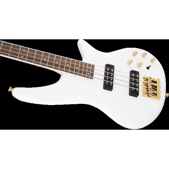 Jackson JS Series Spectra JS3 4-String Electric Bass Guitar - Snow White Finish