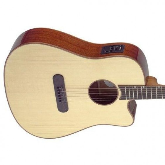 James Neligan LIS-DCFI Acoustic/Electric Lismore Dreadnought Guitar - BLEM