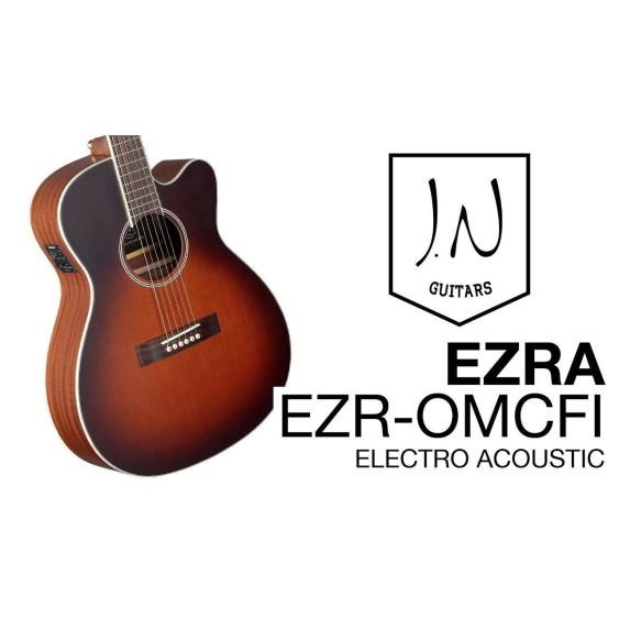 James Neligan EZR-OMCFI Acoustic/Electric EZRA Grand Auditorium Guitar - BLEM