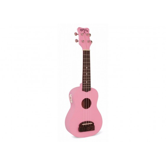 "Kohala ""TIKI"" Soprano Size Ukulele Teacher Or uke Club 10 Pack Bundle - Pink"