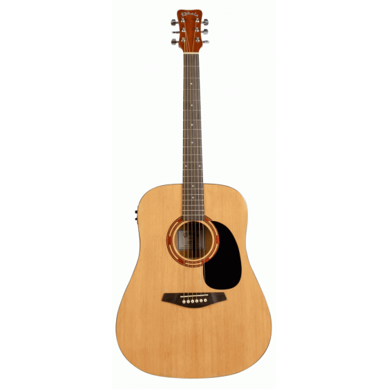 Kohala #KG100SE Full Size Steel String Acoustic Electric Guitar with Gig Bag