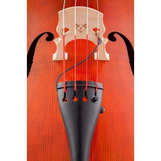 Kremona KNA DB-1 Detachable Portable Piezo Tailpiece Pickup for Double Bass