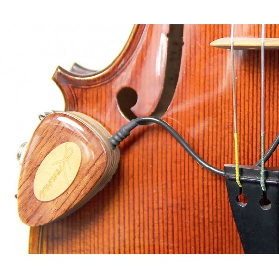 Kremona KNA VV-1 Wooden External Mount Detachable Piezo Pickup for Violin Viola