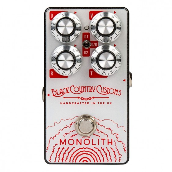 Laney Black Country Customs Monolith Distortion Pedal - Made in England