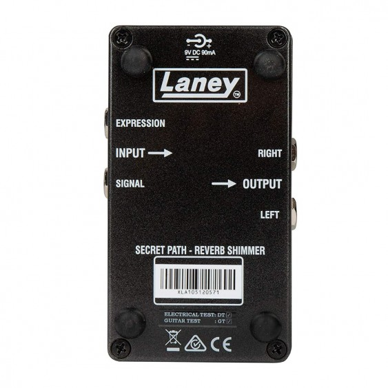 Laney Black Country Customs Secret Path enhanced reverb pedal