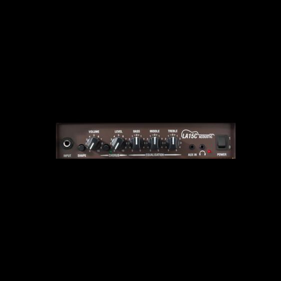 "Laney Model LA15C BK Black 15 Watt Acoustic Guitar Combo Practice Amplifier 2x5"""