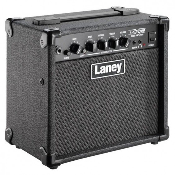 "Laney Model LX15B Electric Bass Guitar 2 X 5"" Combo 15 Watt Guitar Amplifier"