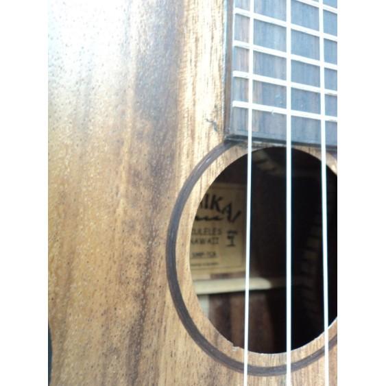 Lanikai SMP-TCA Solid Monkey Pod Tenor Cutaway Electric Acoustic Ukulele -Blem