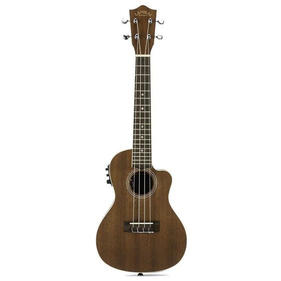 Lanikai  Mahogany Concert Size Satin Finish Electric Acoustic Ukulele # MA-CEC
