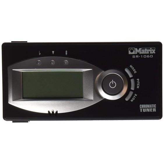 Matrix SR-1060 Black Digital Chromatic Tuner with LCD SR1060B Auto or Manual