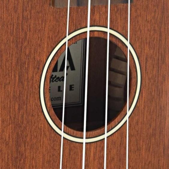 Ohana SK-25 all Solid Mahogany Satin Finish Soprano Ukulele + Gig Bag - Demo