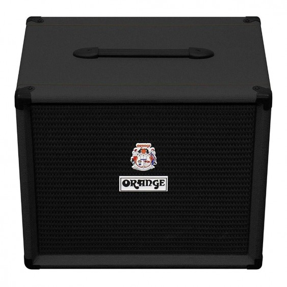 Orange OBC112BK Black 600-Watt Bass Speaker Cabinet 1x12 with Lavoce Neo Driver