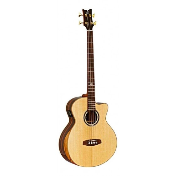 Ortega Private Room Striped Suite ACB Acoustic Electric Bass  - Blem #XZ150
