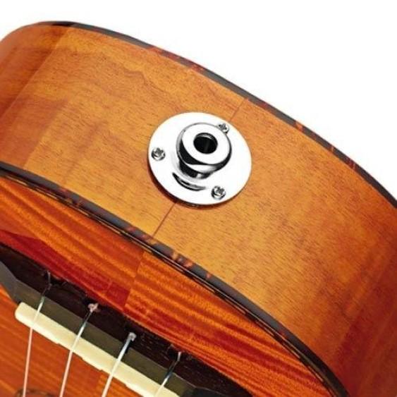 Ortega Guitars RUE10FMH Soprano Electric Ukulele Flamed Mahogany - NEW
