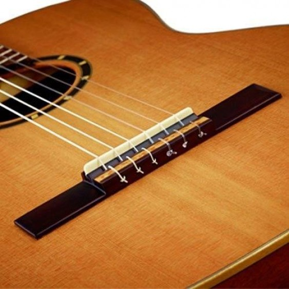 Ortega Guitars M58CS Nylon 6-String SOLID Spruce and Rosewood Classical Guitar