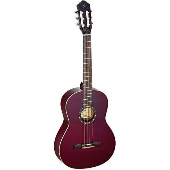 Ortega R131SNWR Pro Slim Neck Wine Red Acoustic Classical Guitar  - Blem #XZ10